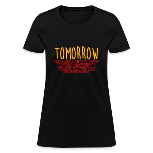 Tomorrow Album Design - Women's T-Shirt