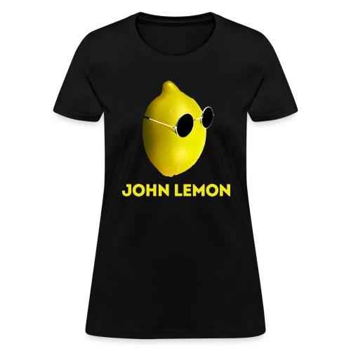 JohnLemon Print1 png - Women's T-Shirt