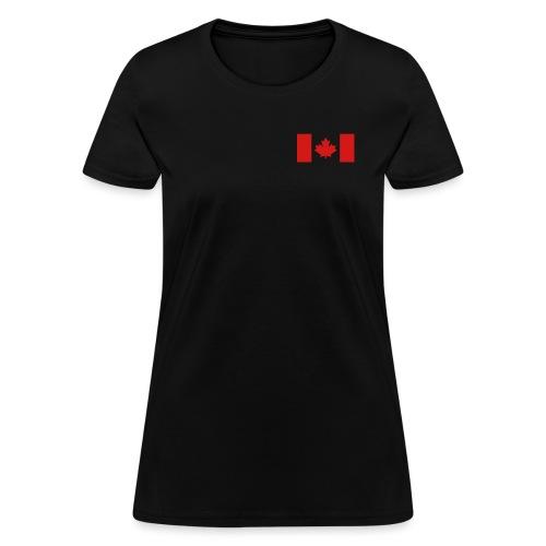 Canadian Flag - Women's T-Shirt