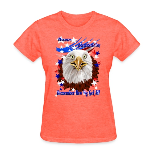 Grand Ol' Eagle-Independence Day - Women's T-Shirt