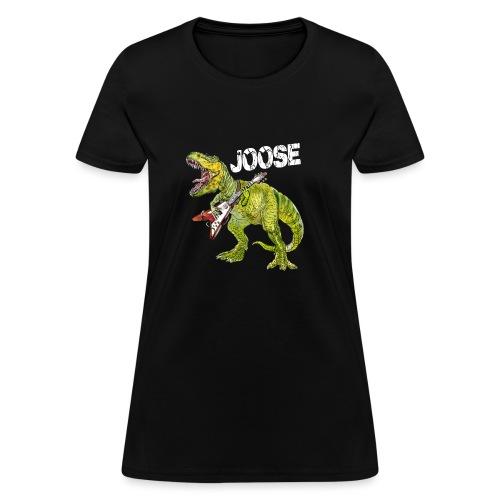 JOOSE T Rex white - Women's T-Shirt