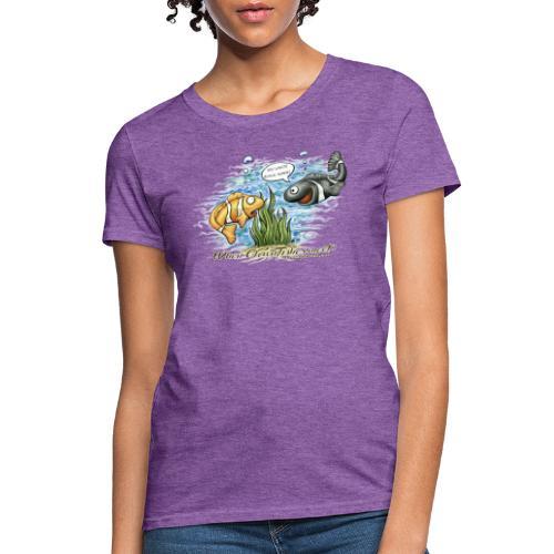 when clownfishes meet - Women's T-Shirt