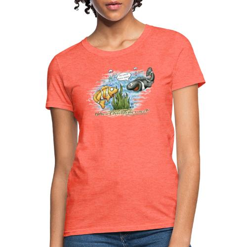 when clownfishes meet - Women's T-Shirt