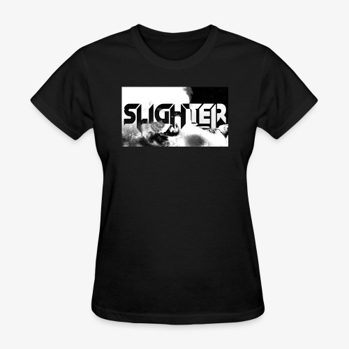 Slighter Logo Corrosion - Women's T-Shirt
