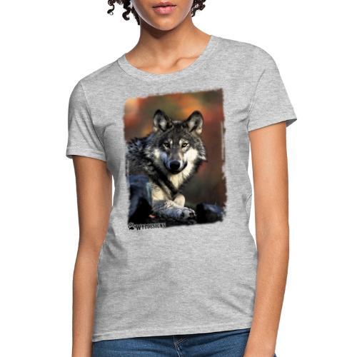 Wolf s Gaze - Women's T-Shirt