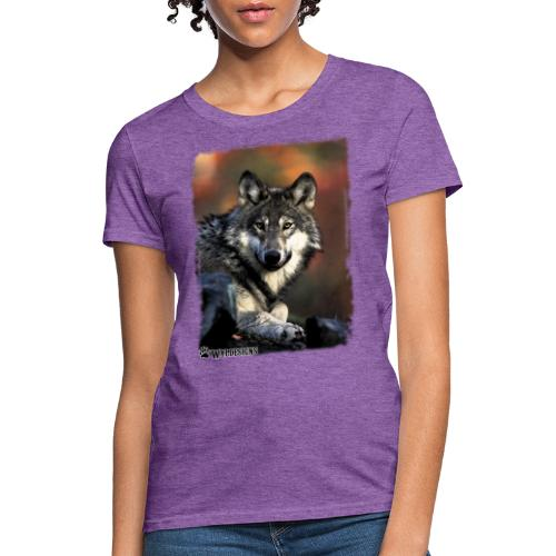 Wolf s Gaze - Women's T-Shirt