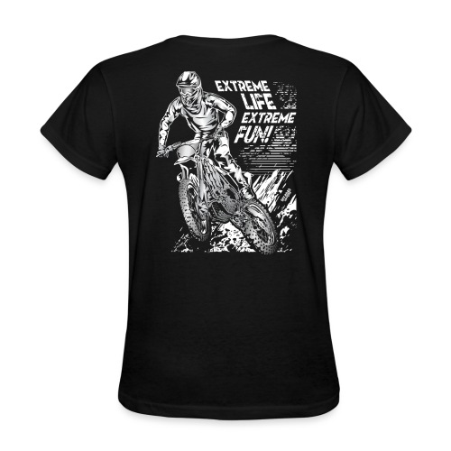 Motocross Extreme Fun - Women's T-Shirt