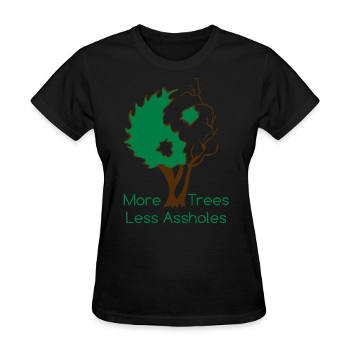 in tree col text - Women's T-Shirt