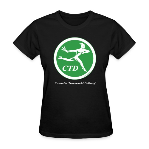 Cannabis Transworld Delivery - Green-White - Women's T-Shirt