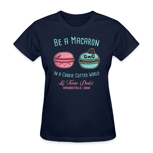 Be a Macaron - Women's T-Shirt