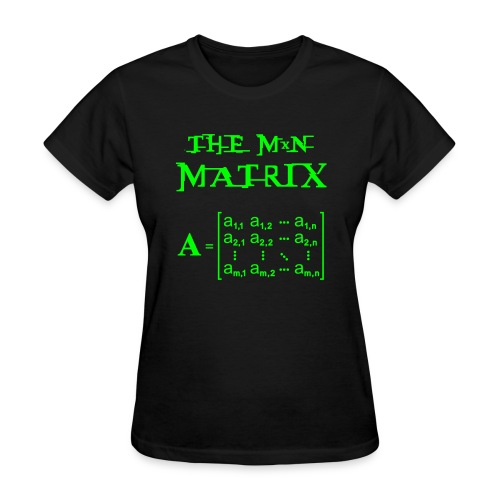 the matrix - Women's T-Shirt