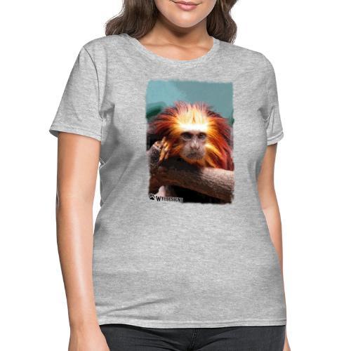 Monkey On Branch - Women's T-Shirt