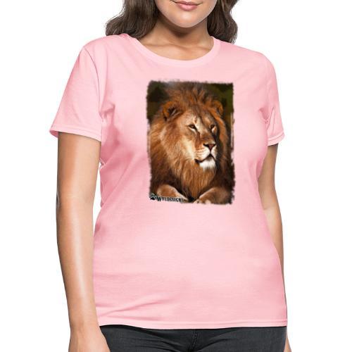 Regal Lion - Women's T-Shirt