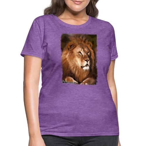 Regal Lion - Women's T-Shirt