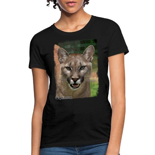 Cougar Stare - Women's T-Shirt