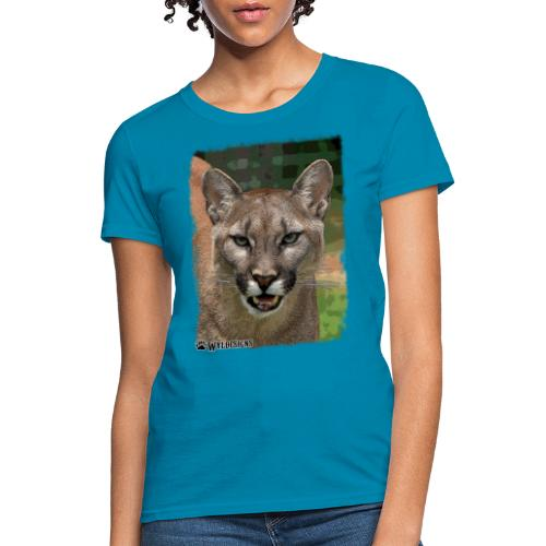Cougar Stare - Women's T-Shirt