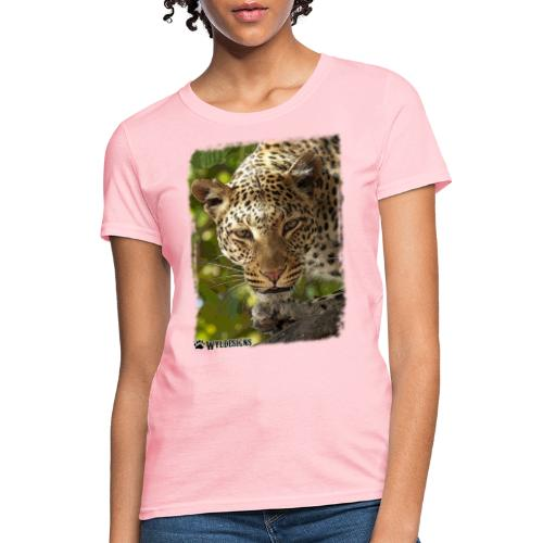 Leopard Stare - Women's T-Shirt