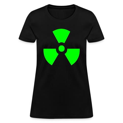 Radiation Symbol - Women's T-Shirt