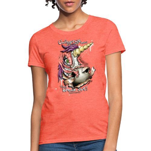 unicorn breakout - Women's T-Shirt