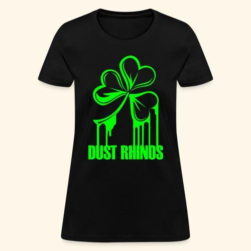 dustrhinospaintshamrock - Women's T-Shirt