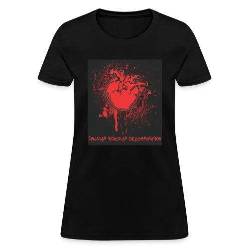 Singular Vascular Decomposition - Women's T-Shirt