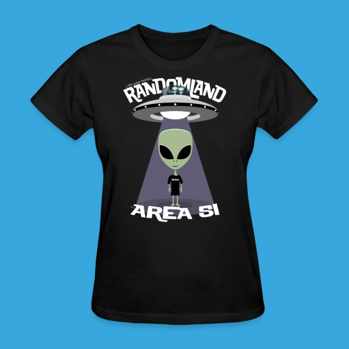 I flew to Area 51 - Women's T-Shirt