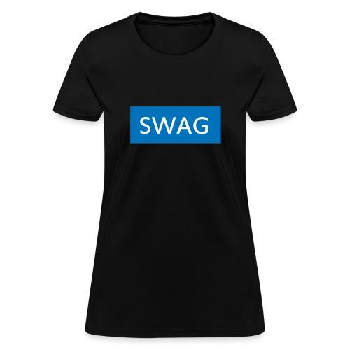 Swag blue Hoodie - Women's T-Shirt