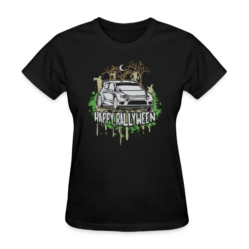 Rally Car Halloween - Women's T-Shirt