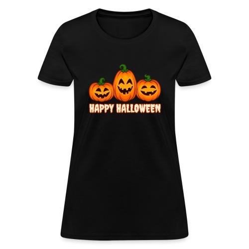 Happy Halloween Pumpkin Squad | Jack O' Lantern - Women's T-Shirt