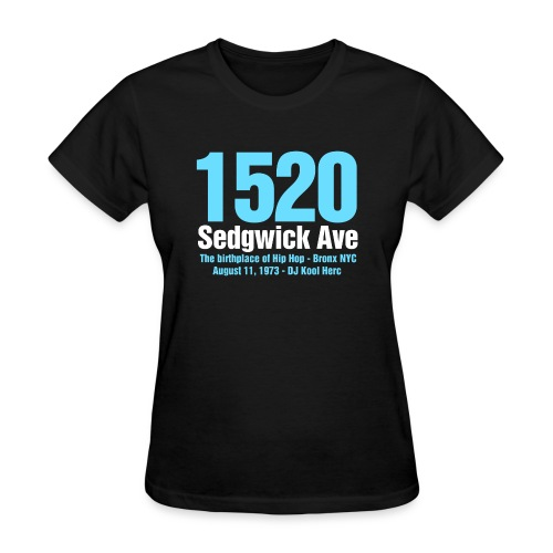 The Birthplace of Hip Hop - Women's T-Shirt