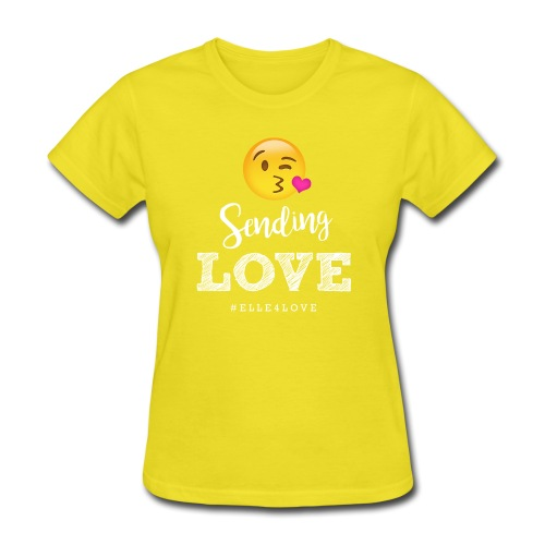 Sending Love - Women's T-Shirt