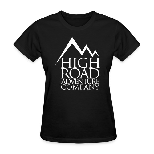 High Road Adventure Company Logo - Women's T-Shirt