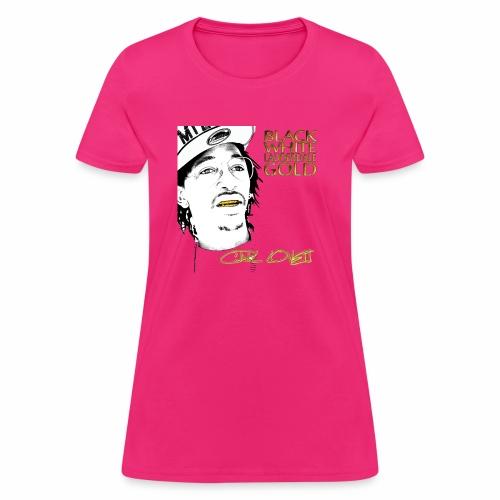 Carl Lovett Lauderdale Gold - Women's T-Shirt