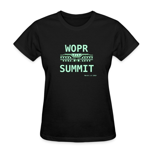 WOPR Summit 0x0 - Women's T-Shirt