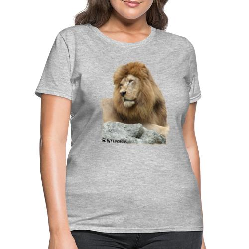 Lion Cutout - Women's T-Shirt