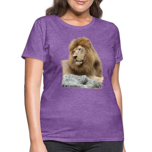 Lion Cutout - Women's T-Shirt
