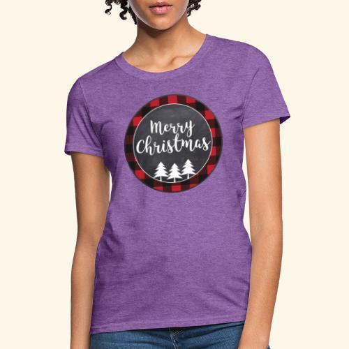 Merry Christmas Country Tee - Women's T-Shirt