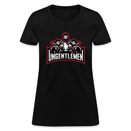 Ungentlemen Text Logo - Women's T-Shirt