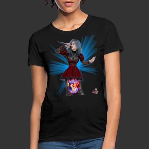 Happily Ever Undead: Alicia Abyss Singer - Women's T-Shirt