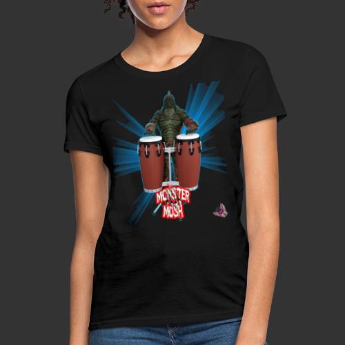 Monster Mosh Creature Bongos - Women's T-Shirt