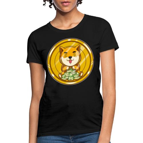 Dogecoin Money Dog - Women's T-Shirt