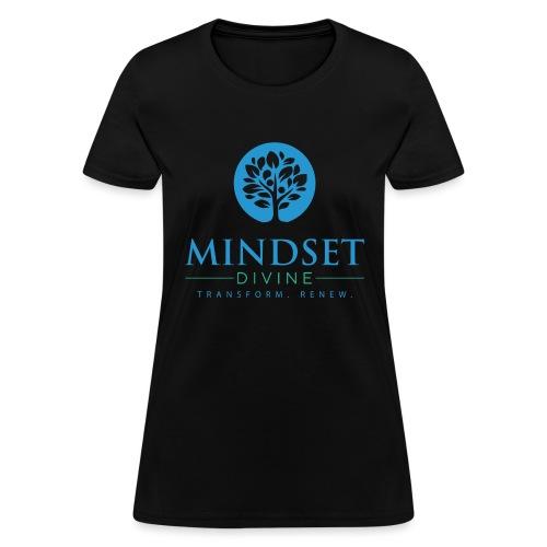 Mindset Divine logo 01 - Women's T-Shirt