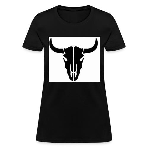 Longhorn skull - Women's T-Shirt