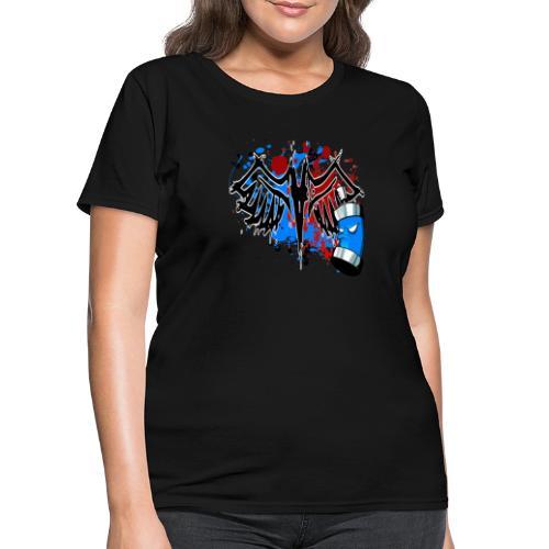 Graffitied Angel - Women's T-Shirt