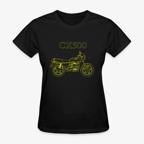 CX500 line drawing - Women's T-Shirt