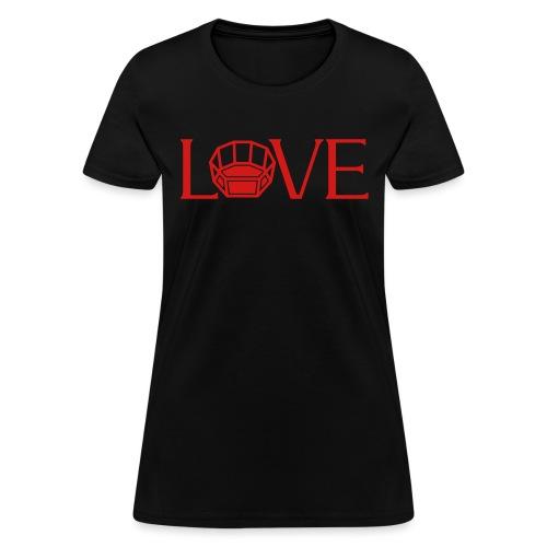 Octagon Love mma - Women's T-Shirt