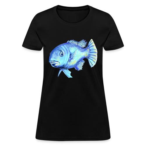 blue fish - Women's T-Shirt