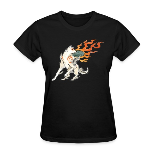 Fire wolf - Women's T-Shirt