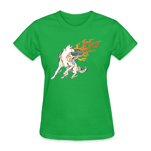 Fire wolf - Women's T-Shirt