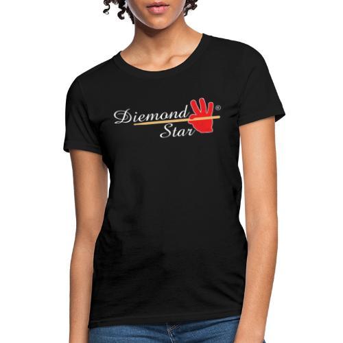 Diemond Star Logo White Font - Women's T-Shirt